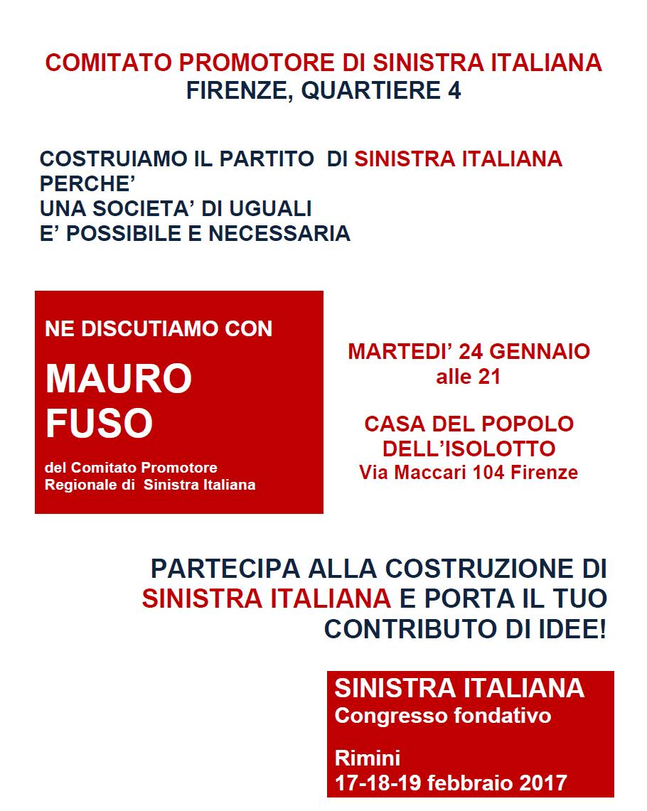 Iniziativa Q4 Sinistra Italiana