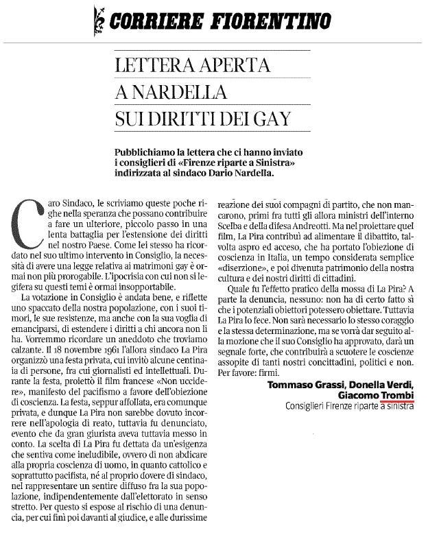 LetteraApertaCorriereFiorentino