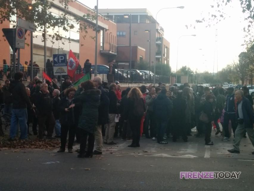 Manifestazione alle Piagge