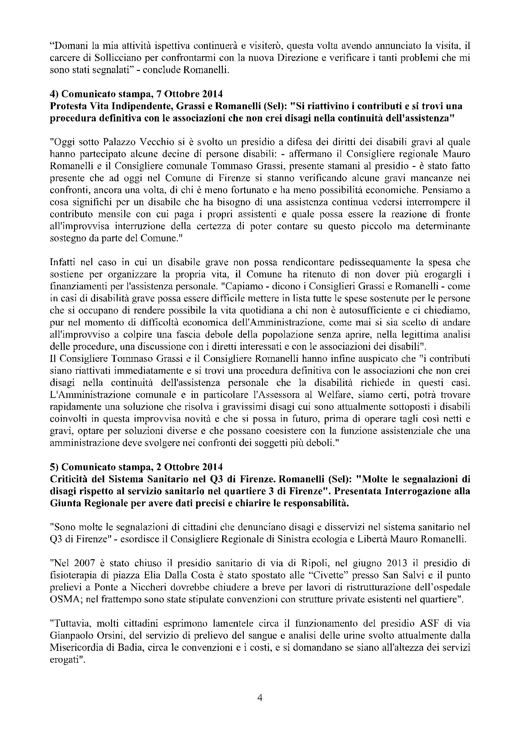 Newsletter di MAURO ROMANELLI Ottobre 2014 -4
