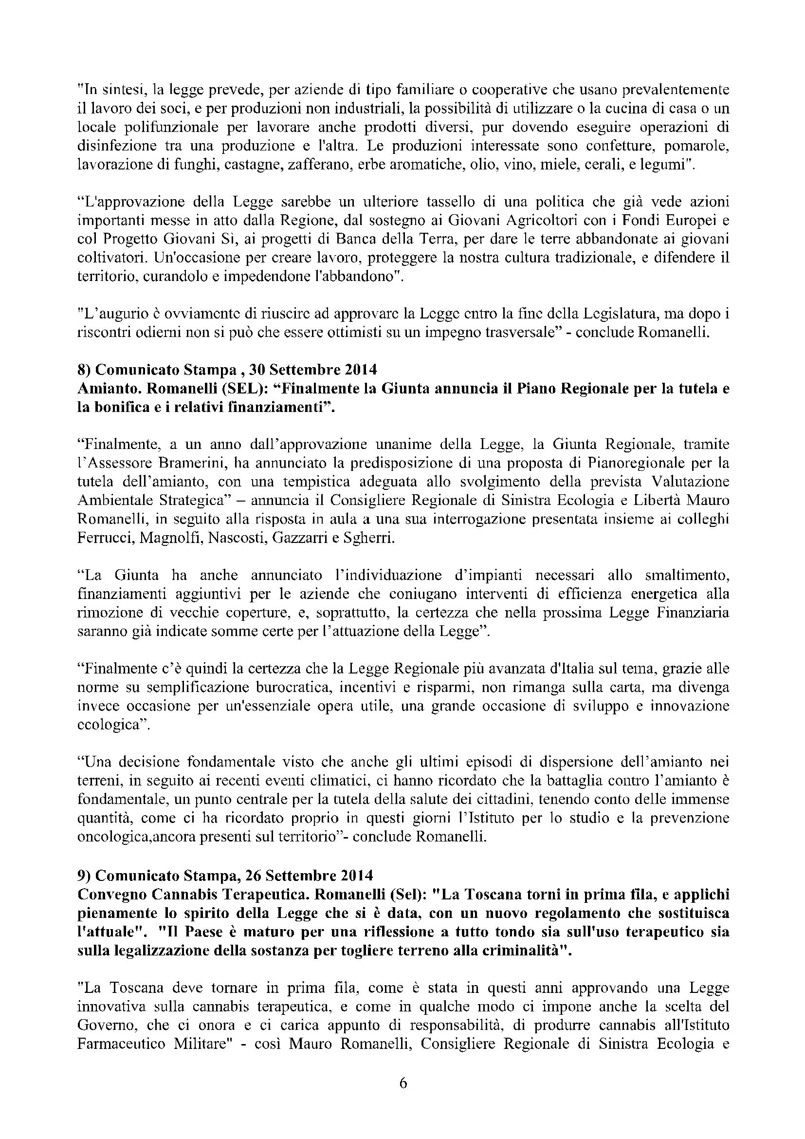 Newsletter di MAURO ROMANELLI Ottobre 2014 -6