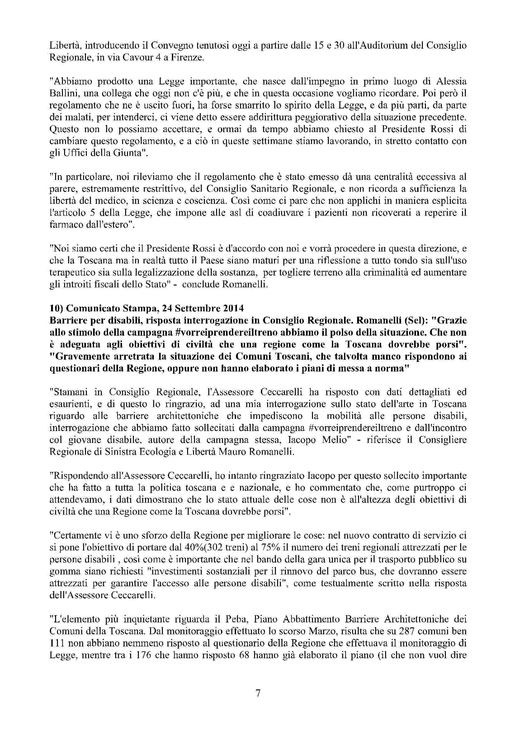 Newsletter di MAURO ROMANELLI Ottobre 2014 -7