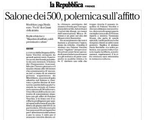 Articolo Cene Palazzo Repubblica 10-07-2014