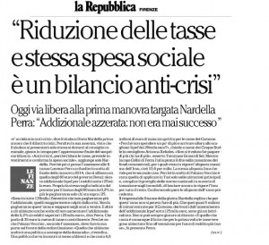 Articolo bilancio Repubblica 29-07-2014
