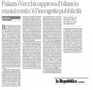 Articolo bilancio Repubblica 30-07-2014