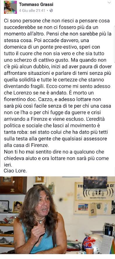 Post su Lorenzo Bargellini