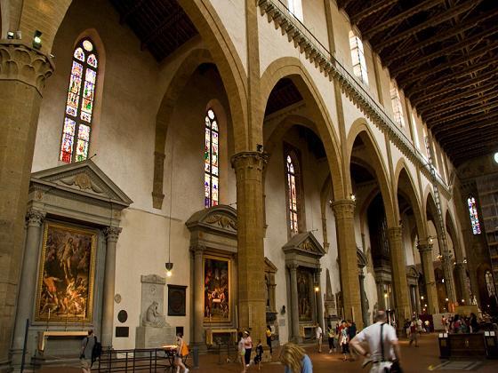 Santa Croce navata