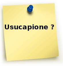 usocapione
