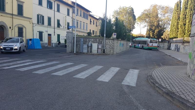 Attaversamento pedonale Via Faentina