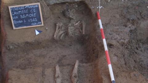 Tramvia resti archelogici