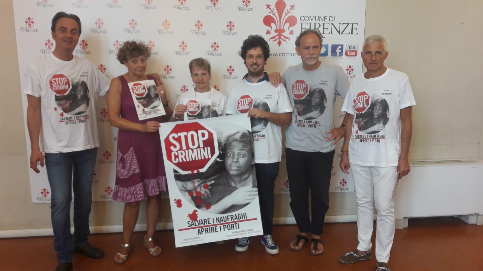 maglietta STOP CRIMINI