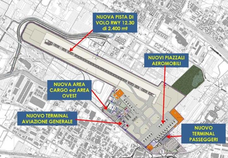 nuova pista masterplan