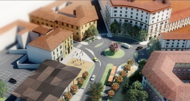 Nuova Piazza delle Cure