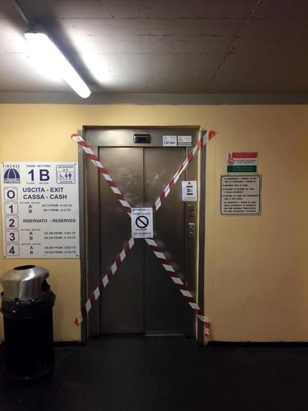 ascensore stazione