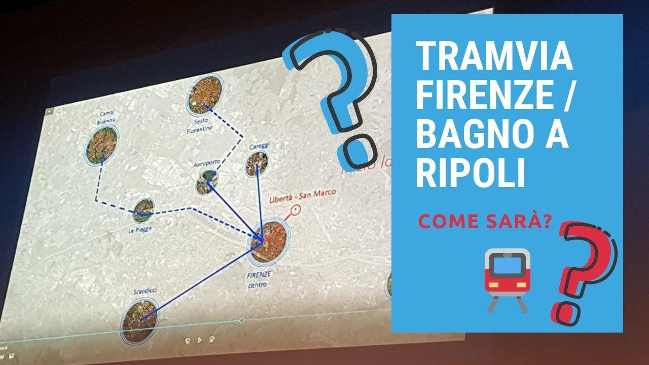 tramvia verso Bagno a Ripoli