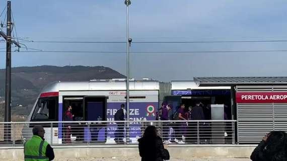 Fiorentina in tramvia